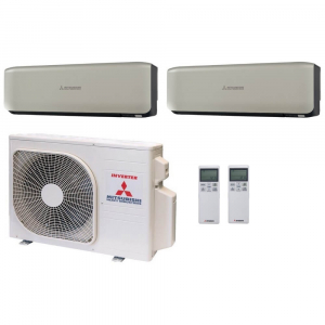 Мульти сплит системы Mitsubishi Heavy Industries 2xSRK60ZSX-WT / SCM125ZM-S