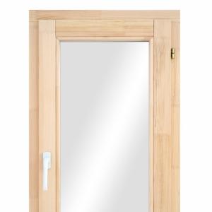 Окно из лиственницы одностворчатое поворотно-откидное