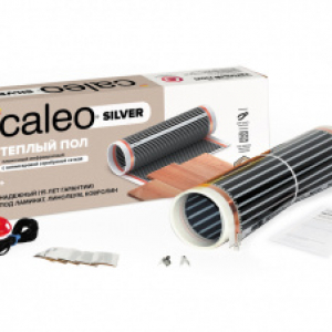 Пленочный теплый пол CALEO SILVER 220 Вт/м2, 2 м2