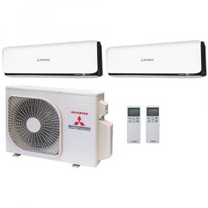 Мульти сплит системы Mitsubishi Heavy Industries 2xSRK60ZSX-WB / SCM125ZM-S