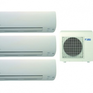 Мульти сплит-система Daikin 3MXS40K/FTXS20K/FTXS20K/FTXS20K