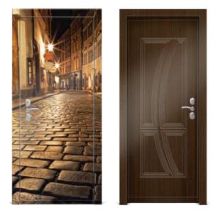 Входная металлическая дверь Оптима OPT044