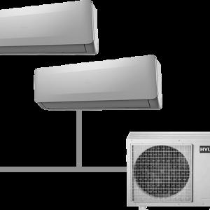 Мульти кондиционер Hyundai H-ALMO1-18H2-UI146/O на 2 комнаты