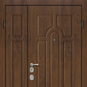 Двустворчатая входная дверь с терморазрывом