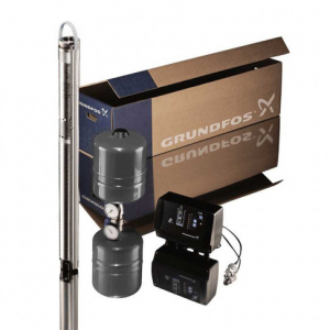 Насос скважинный Grundfos SQE 3-105 (Комплект)