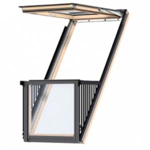 Окно-балкон Velux Cabrio EDS 0000 94х252 PK19