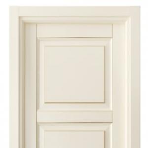 Межкомнатная дверь Волховец Классика lignum массив бука эмаль с патиной 0731