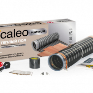 Пленочный теплый пол CALEO PLATINUM 230 Вт/м2, 3 м2