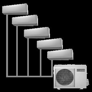 Мульти-сплит система Hyundai H-ALMO1-42H5-UI150/O