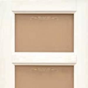 Межкомнатная дверь Дворецкий Валенсия стекло белый ясень