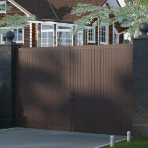 Распашные ворота DoorHan 3000x2500 мм