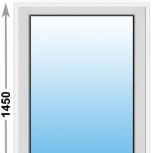Алюминиевое окно Provedal глухое 900х1450 (ШхВ)