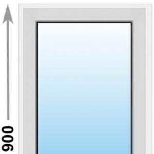 Алюминиевое окно Provedal глухое 600х900 (ШхВ)