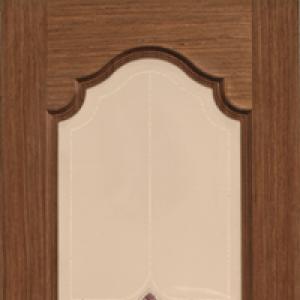 Межкомнатная дверь Дворецкий виктория стекло орех