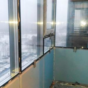 Утепление алюминиевых балконов и лоджий