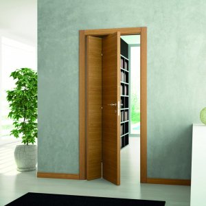 Установка двери книжки