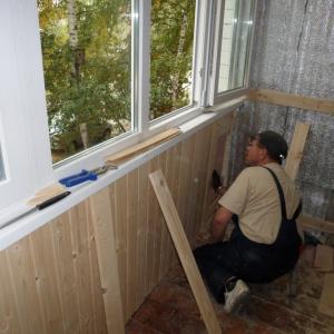 Утепление пластиковых балконов и лоджий